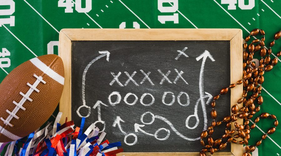 Touchdown Game Day Party Tips
